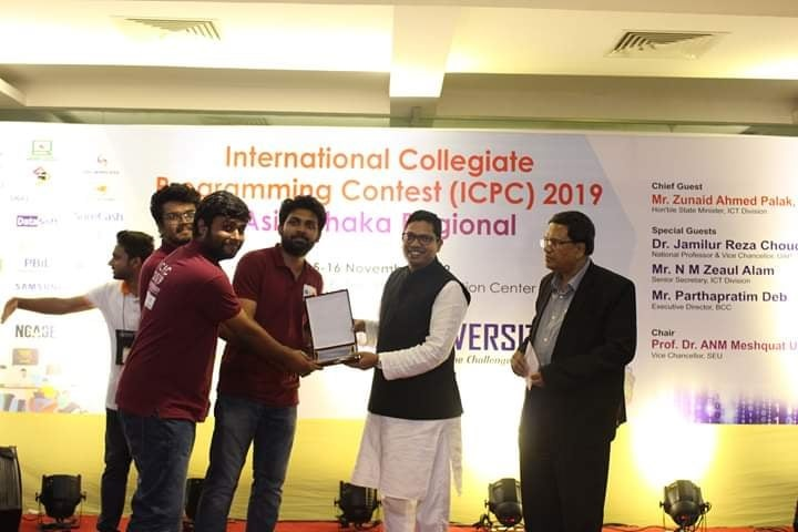 RUET_Narsil Placed 10th at ICPC-2019